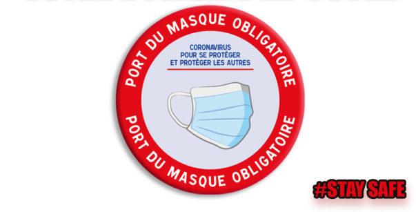 Port du masque obligatoire